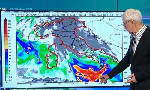 Il meteorologo di La7 Paolo Sottocorona