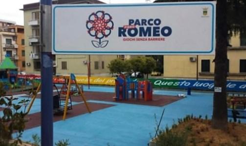 Parco Romeo, foto dalla pagina fb dell'associazione