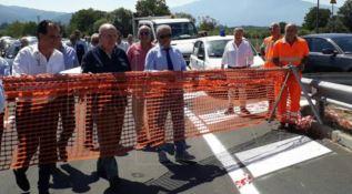 Inaugurazione strada Medio-Savuto