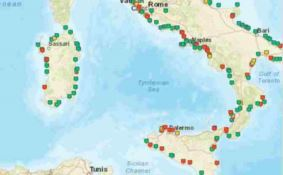 """Mare inquinato, in Calabria sette """"malati cronici"""""""