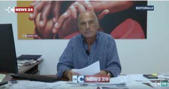 Un messaggio al Prefetto di Reggio nel WhatsApp di Pietro Melia