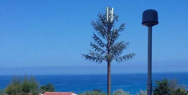 Antenna monitorata a Ricadi