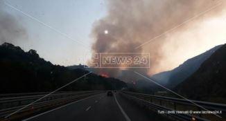 A2, emergenza incendi