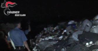 Reggio, rifiuti pericolosi