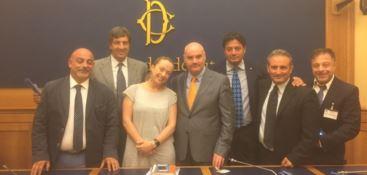 Claudio Parente e Giorgia Meloni ufficializzano l'unione