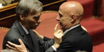 Il ministro Delrio e il ministro Minniti