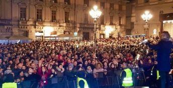 Catanzaro, grande successo per il concertone di Capodanno
