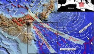 Ecco perché Calabria e Sicilia si allontanano: scoperto un sistema di faglie sottomarine