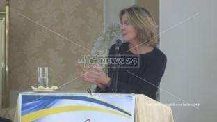 Sanità, Beatrice Lorenzin a Rossano: «Su commissariamento deciderà il Consiglio dei Ministri» (VIDEO)