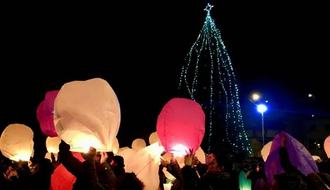 San Roberto: la Notte delle lanterne