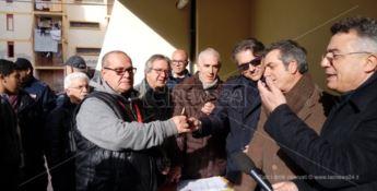 Catanzaro, consegnati i primi alloggi a viale Isonzo