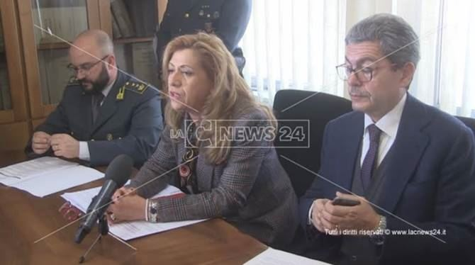 Cosenza, conferenza stampa