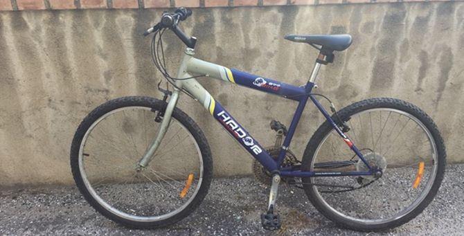 La bici dell'extracomunitario investito