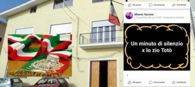 """In lutto per Riina: consigliere comunale chiede su Facebook un minuto di silenzio per """"zio Totò"""""""