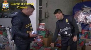 Sequestri a Cosenza