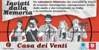 A Catanzaro si presenta il calendario in memoria dei giornalisti uccisi