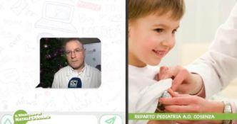 Pediatria, il WhatsApp di Dodaro