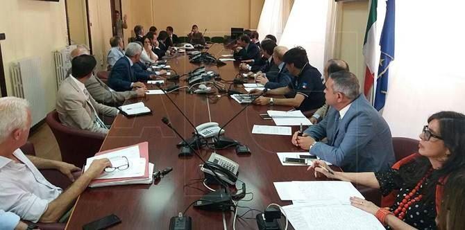 Ex Legnochimica, riunione in Prefettura