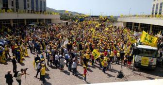 La protesta della Coldiretti alla Cittadella regionale