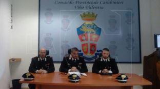 Conferenza stampa a Vibo Valentia