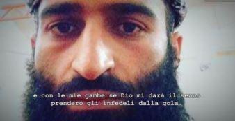 Terrorismo, le frasi shock dell'aspirante jihadista: «L'Isis è buono, l'Isis per me è Dio» (VIDEO)