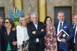 A Cosenza cinema all'aperto in Piazza Bilotti con Mimmo Calopresti