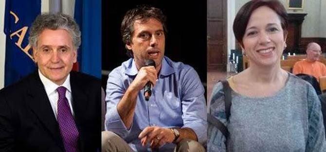 Vincenzo Ciconte, Nicola Fiorita e Bianca Laura Granato