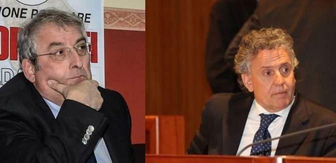 Ernesto Magorno ed Enzo Ciconte