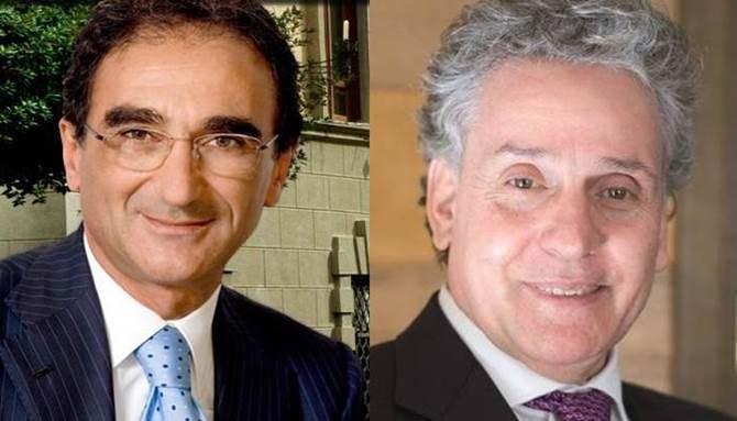 Sergio Abramo e Vincenzo Ciconte