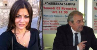 L'onorevole Santelli e il segretario regionale Pd Magorno
