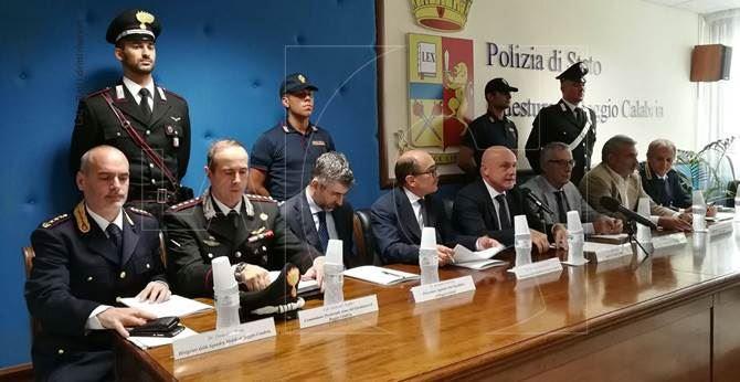 La conferenza stampa a Reggio Calabria
