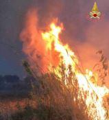 In prima linea con i vigili del fuoco