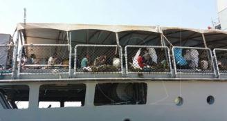 Sbarchi a Corigliano, fermati tre presunti scafisti