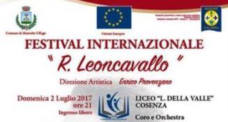 Il Festival internazionale Ruggero Leoncavallo di Montalto Uffugo entra nel vivo (INTERVISTA)