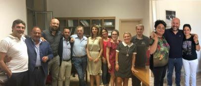 Il gruppo di Forza Italia e Obiettivo Comune in Consiglio comunale
