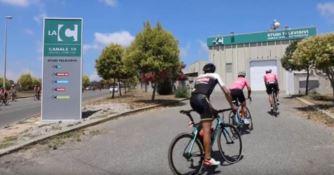 Villaggio del ciclismo, tappa in Calabria