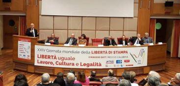 """A Reggio la XXIV """"Giornata mondiale della libertà di stampa"""""""