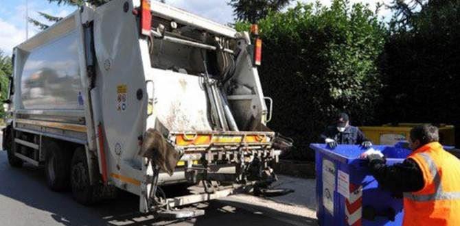 Camion per la raccolta rifiuti