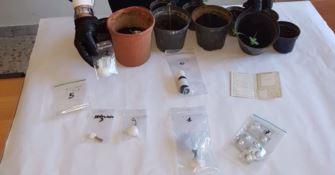Sorpreso con cocaina ed eroina, un arresto nel Catanzarese (Foto)