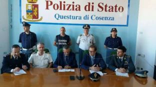 Conferenza arresto scafisti