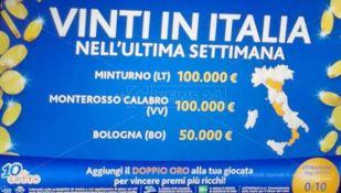 La fortuna bacia Monterosso, vinti 100mila euro