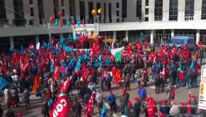 Manifestazione a Catanzaro