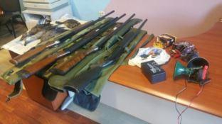 Operazione antibracconaggio, sette persone denunciate