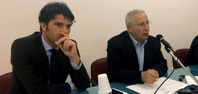 Giuseppe Pugliese e Giuseppe Perri