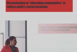 Federica Roccisano a Budapest per presentare uno studio su esclusione sociale all'Università
