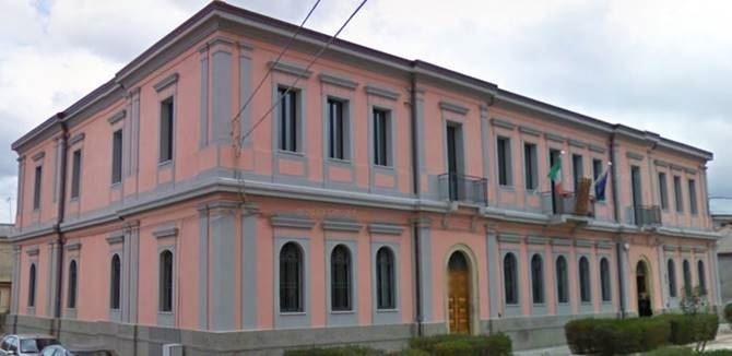 Il municipio di Taurianova