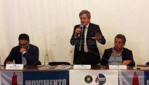 Gianni Alemanno a Vibo: «Italia svenduta a Ue e finanza internazionale» (VIDEO)