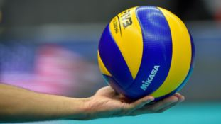Un pallone di volley