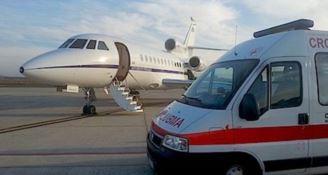 Bimba ha un malore, aereo militare la trasporta d'urgenza a Torino