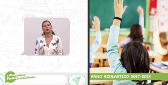 Buon anno scolastico: il WhatsApp di Federica Roccisano
